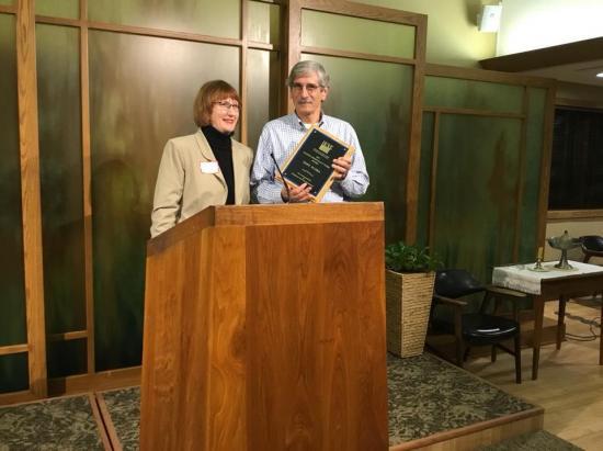 Tony Flora, 2017 Making Democracy Work Award Recipient