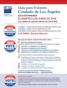 June 5 Voter Guide Spanish