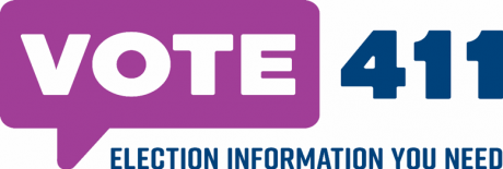 VOTE411 Election information you need.