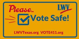 Vote safe!
