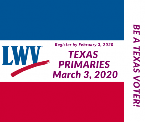 Be a Texas Voter in the Texas Primaries.