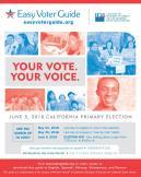 CA Easy Voter Guide