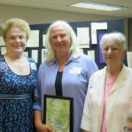 Gretchen Sabel with Susan Anderson and Zilla Way
