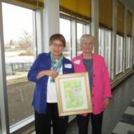 Kathy Aanerud with Zilla Way