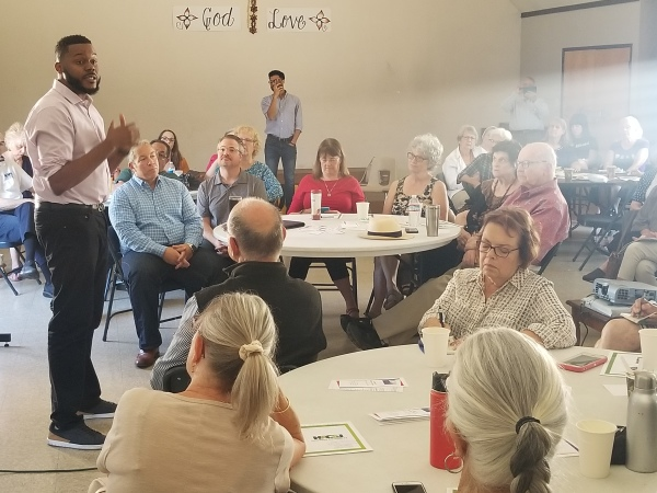 LWVSJC Kickoff Meeting 2019 with Mayor Michael Tubbs