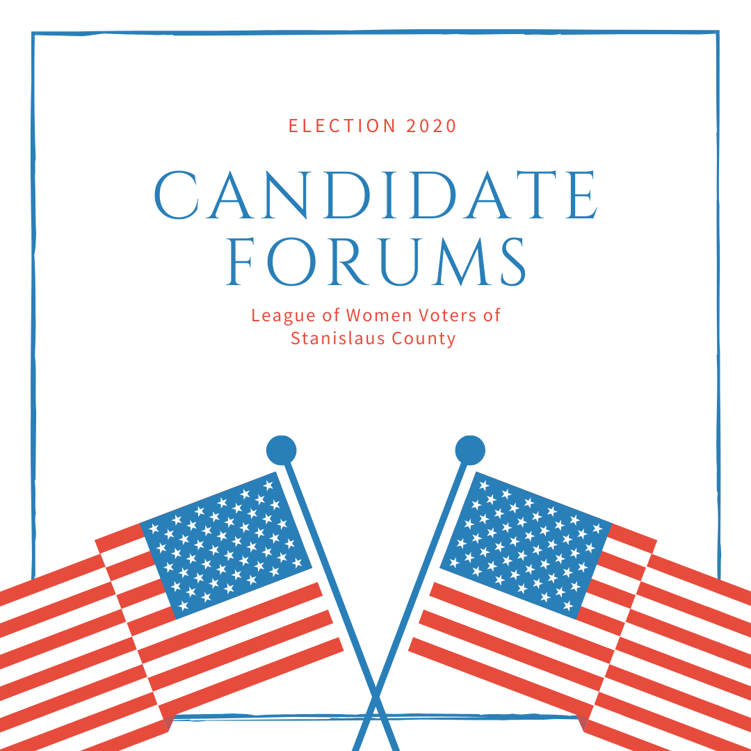 Image: candidate forum announcements
