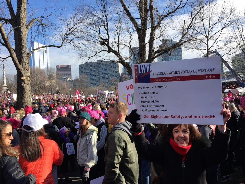 2017 Womens March in Boston