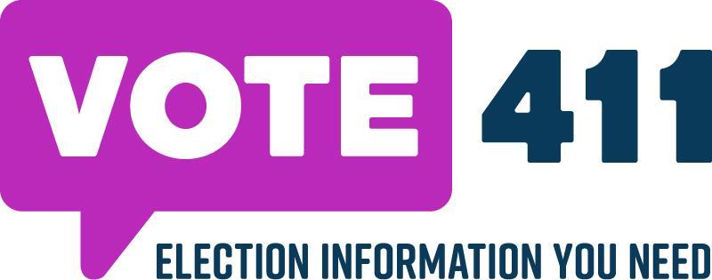 Vote411 Election Information logo