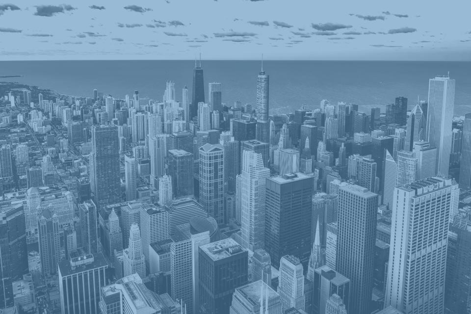 Downtown Chicago skyline