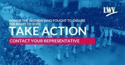 WomenVoteinAction
