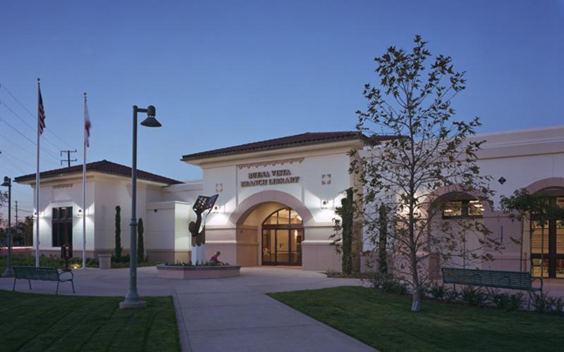 Buena Vista Library Burbank CA location for pros cons 2018 ballot