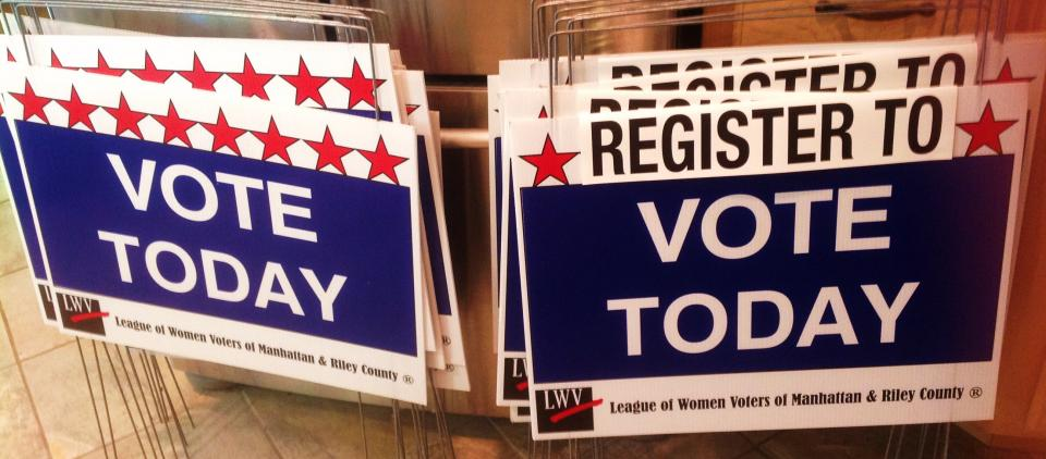 Are You Registered? Take care of that today!