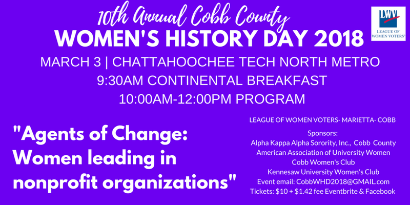 Women's History Day 2018