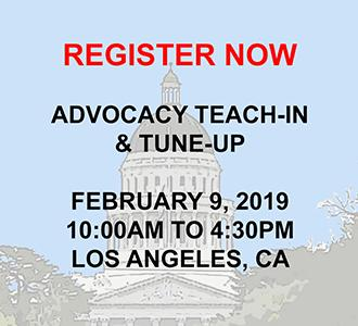 Advocacy Teach-In and Tune-Up