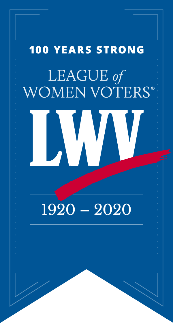 LWV 100 years Ribbon