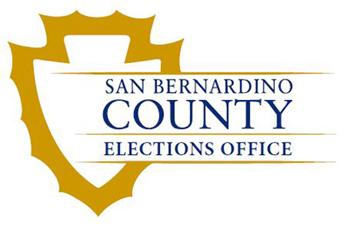 San Bernardino Registrar of voters logo