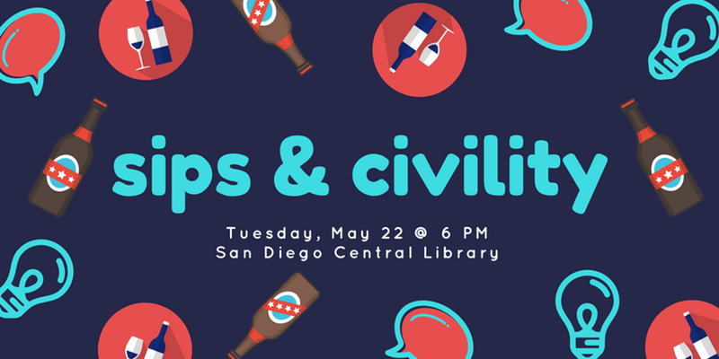 Sips and Civility event