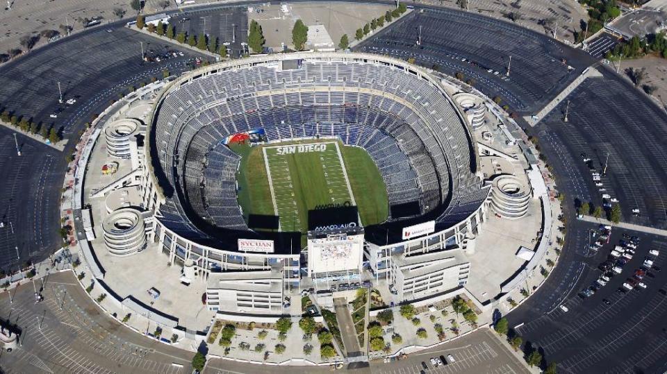 San Diego Qualcomm stadium