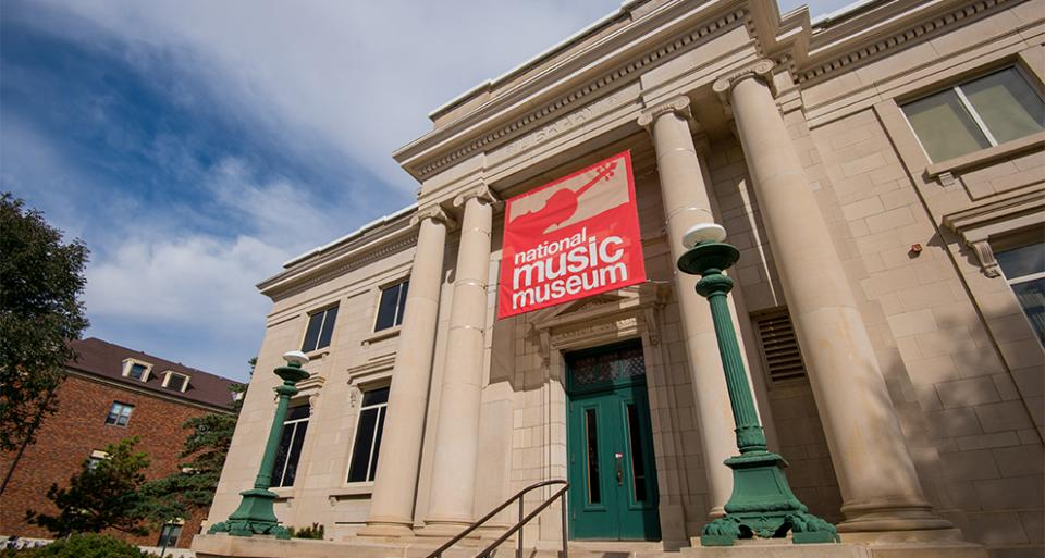 National Music Museum in Vermillion, SD