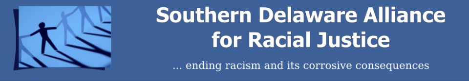 the logo of the Southern Delaware Alliance for Racial Justice