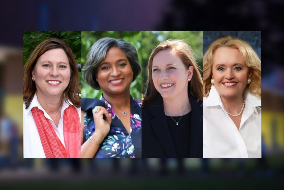 Four women Candidates