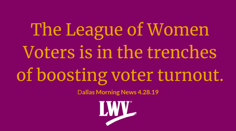 The League of Women Voters is in the Trenches of Boosting Voter Turnout