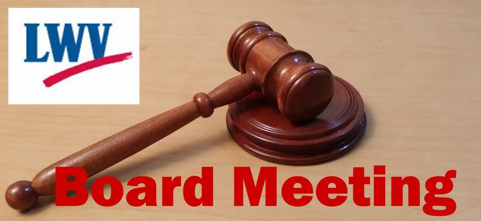 LWV_Board_Meeting