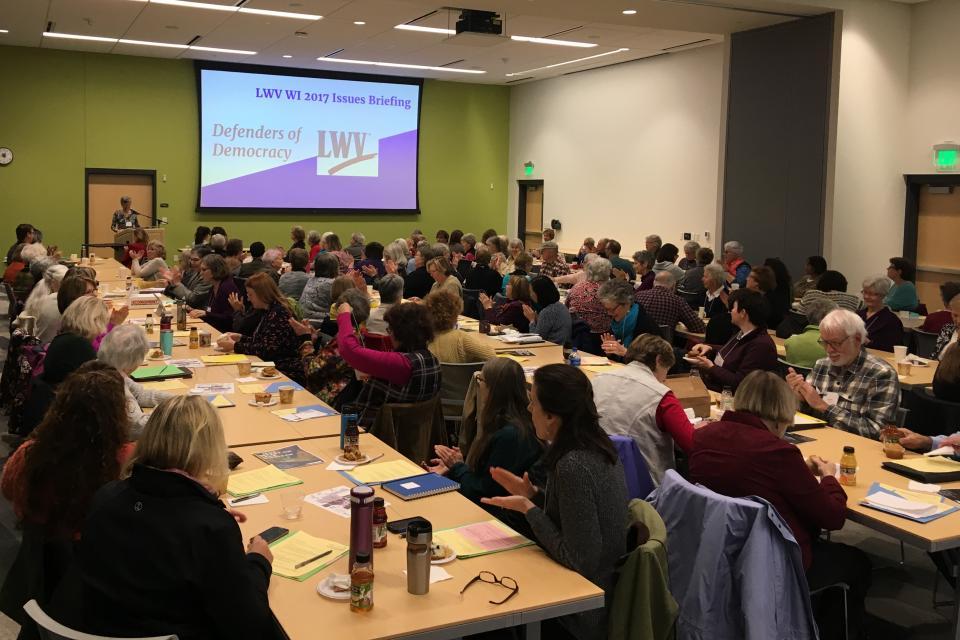 LWV WI Issues Briefing 2017