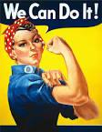 Rosie the Riveter We Can Do It!