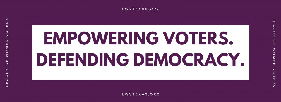 Empowering Voters defending democracy