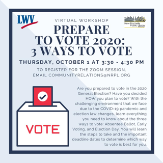 3 Ways to Vote