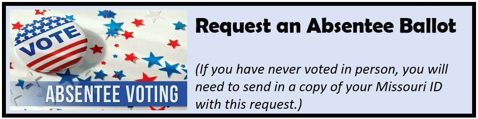 absentee ballot request form