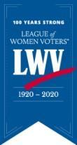 LWV Centennial Small Banner, 1919-2019
