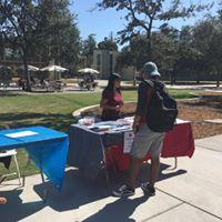 Fresno State student chapter registering voters