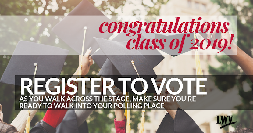 High School Graduate - Register to Vote!