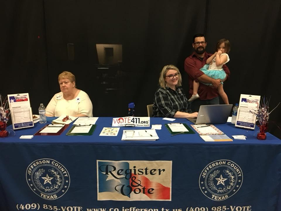 Beaumont LWV -  National Voter Registration Day