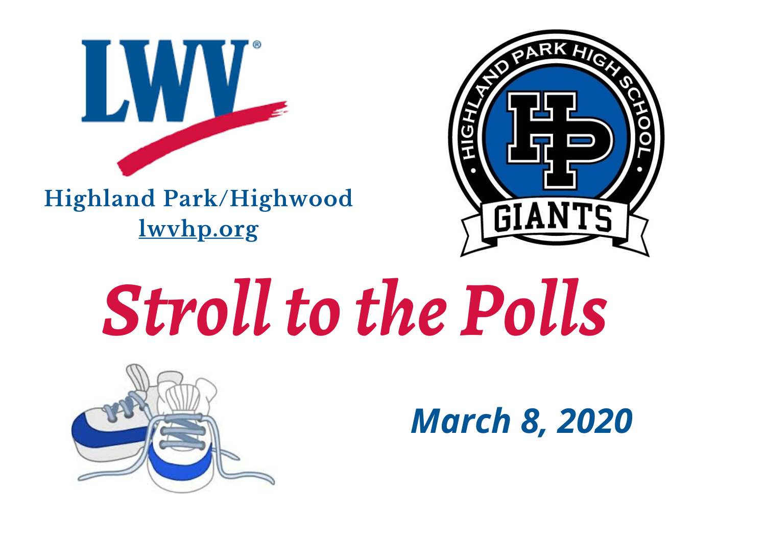 Stroll to the Polls Badge