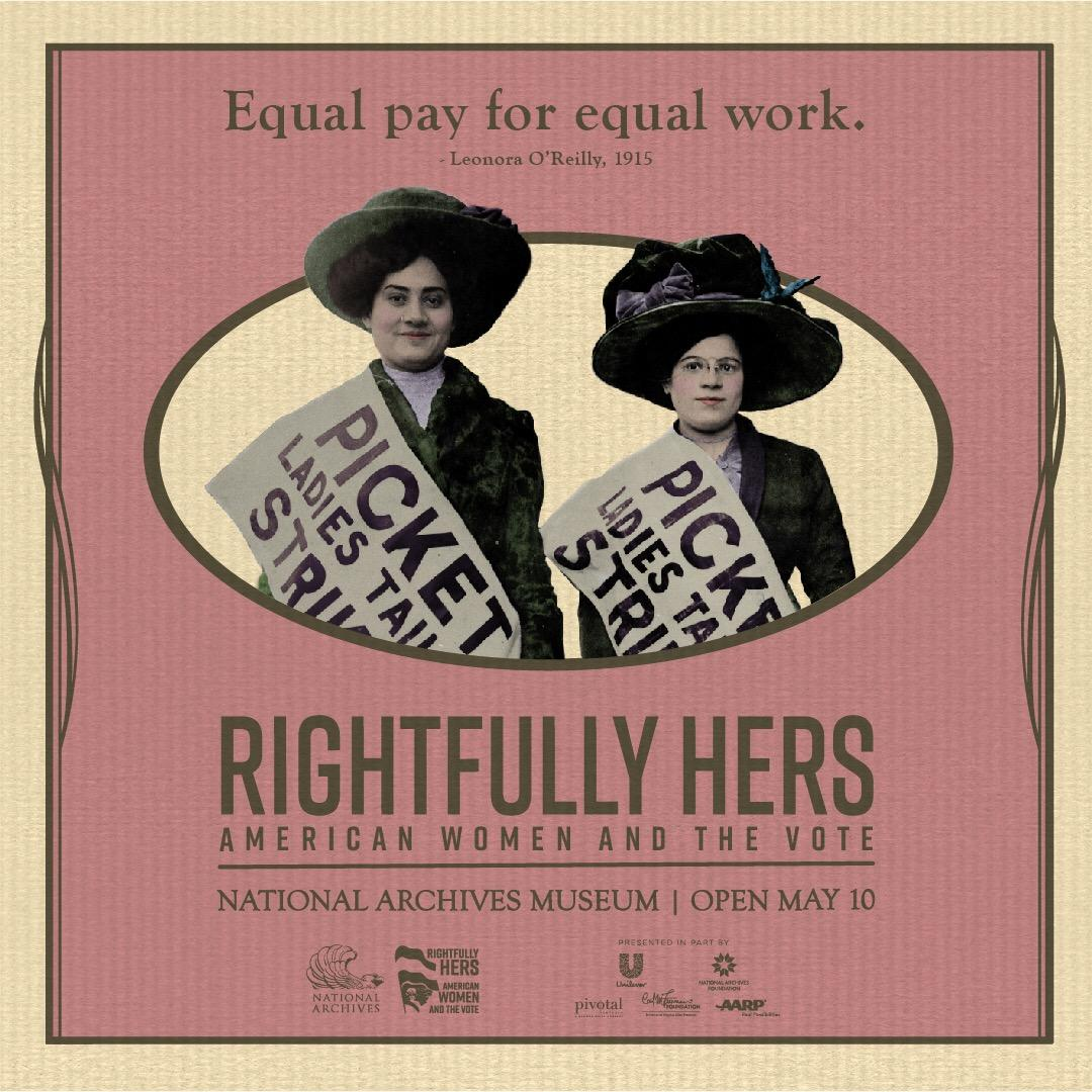 Equal Pay Poster 1915