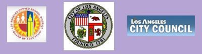 City of Los Angeles, Los Angeles City Council,  Los Angeles Unified School District