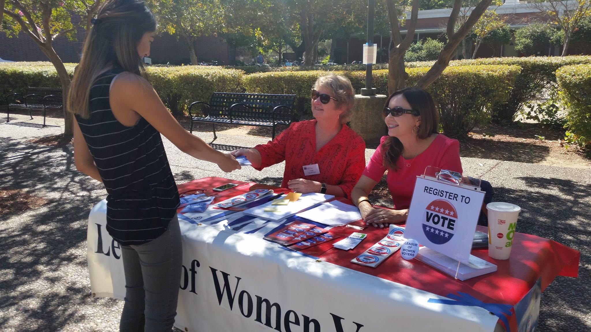 Voter Registration at CSUC