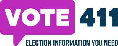Vote411.org button