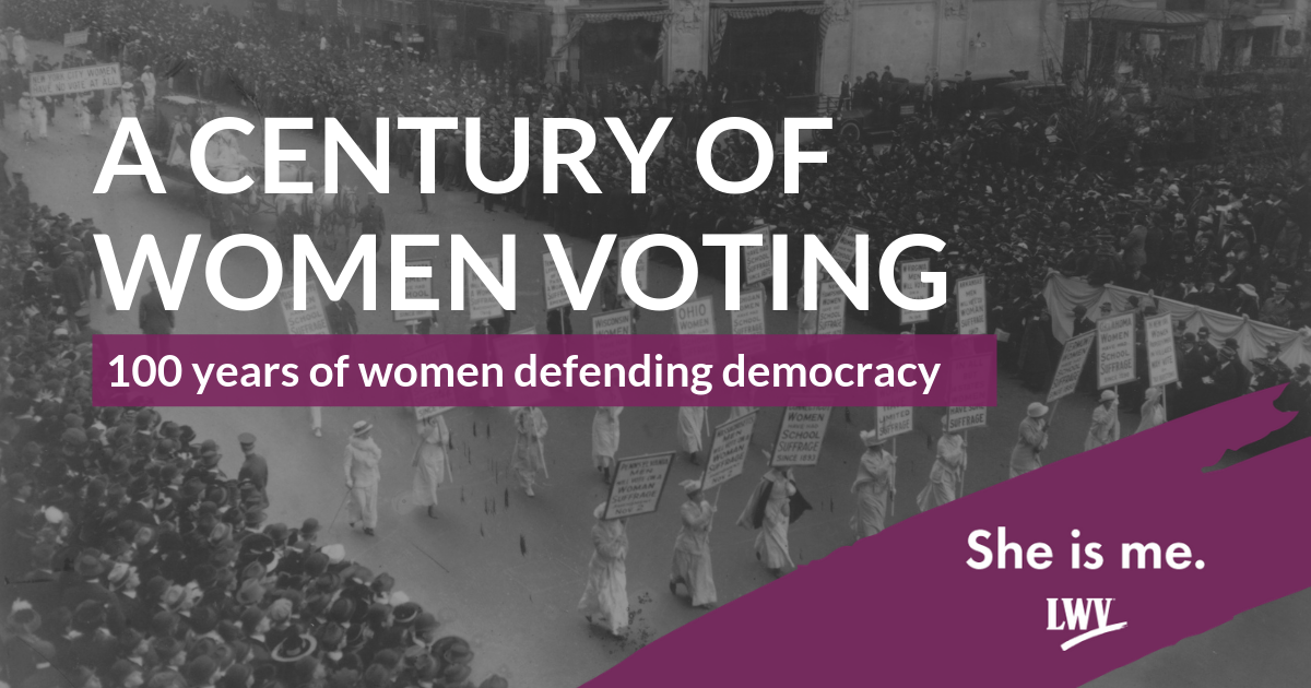 She Is Me Campaign A Century of Women Voting