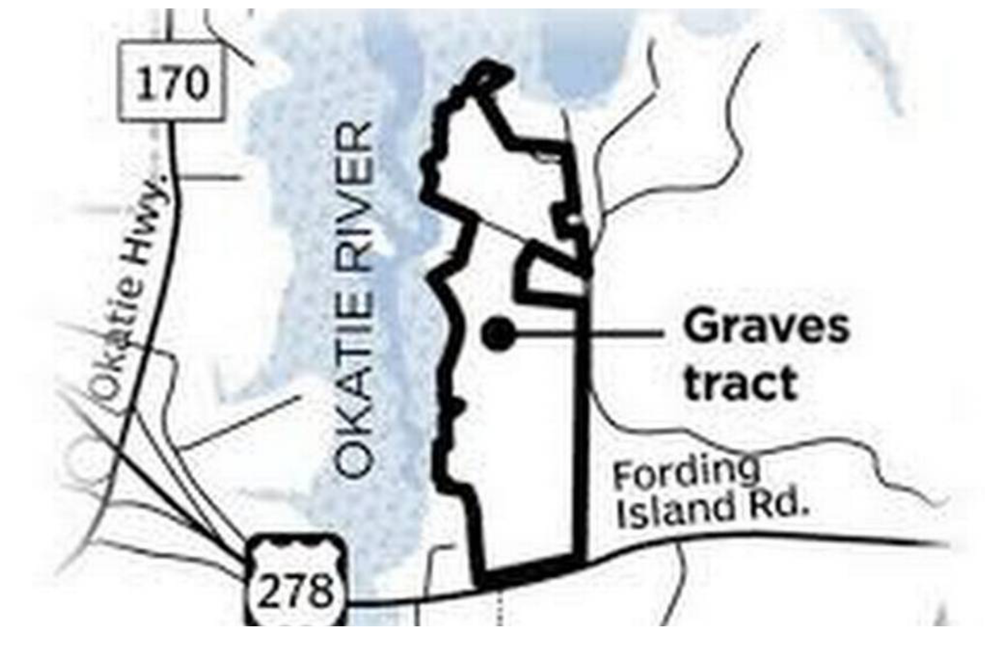 Graves tract: Okatie River, Bluffton Township