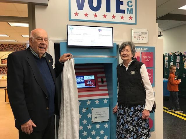 Voting Booth, Children's Museum exhibit