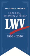 LWV 100th Centennial graphic
