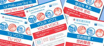 Easy Voter Guides