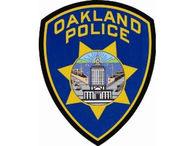 Oakland Police badge graphic