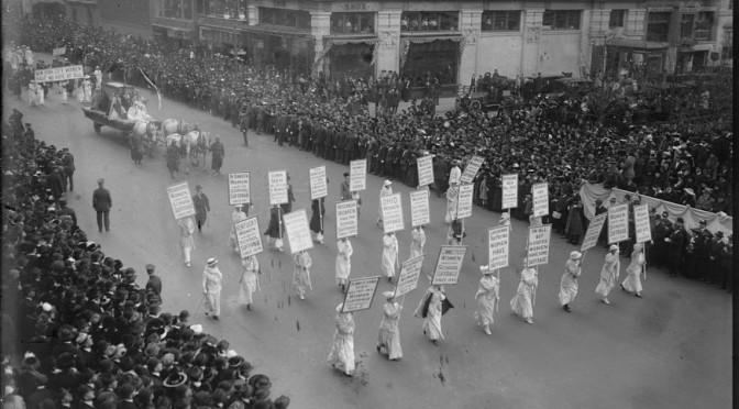 Suffragists March in 1920