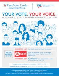Easy Voter Guide