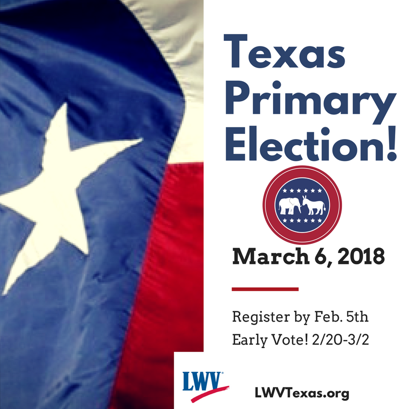 Texas Primary Election March 6 2018
